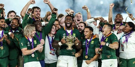 South Africa crowned 2019 RWC champions