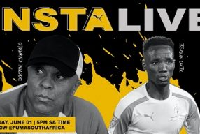 Football legends Teko Modise and Doc Khumalo on PUMA IG Live – 5pm Monday 1 June