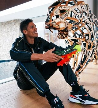 PUMA sign Real Madrid's French World Cup winner Varane